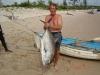 On 6kg Line in Estuary